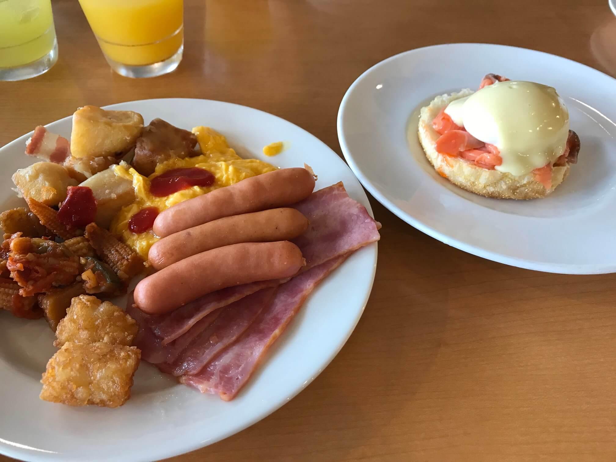 オキナワマリオットの朝食