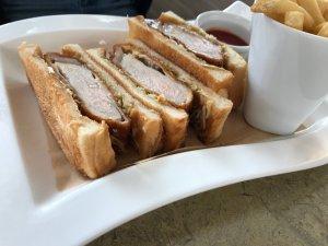 沖縄島豚カツ サンドイッチ
