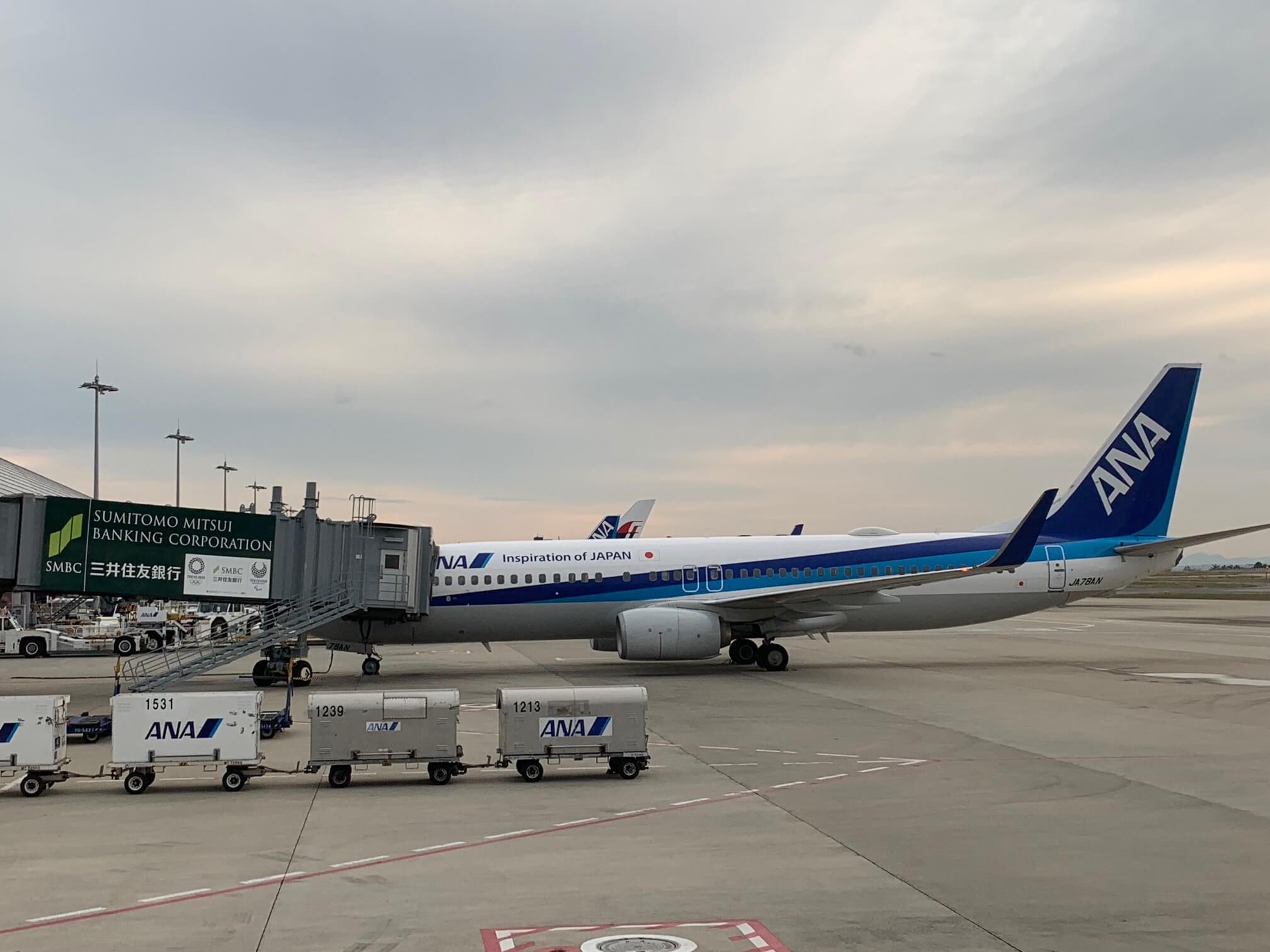 関西空港 ANA