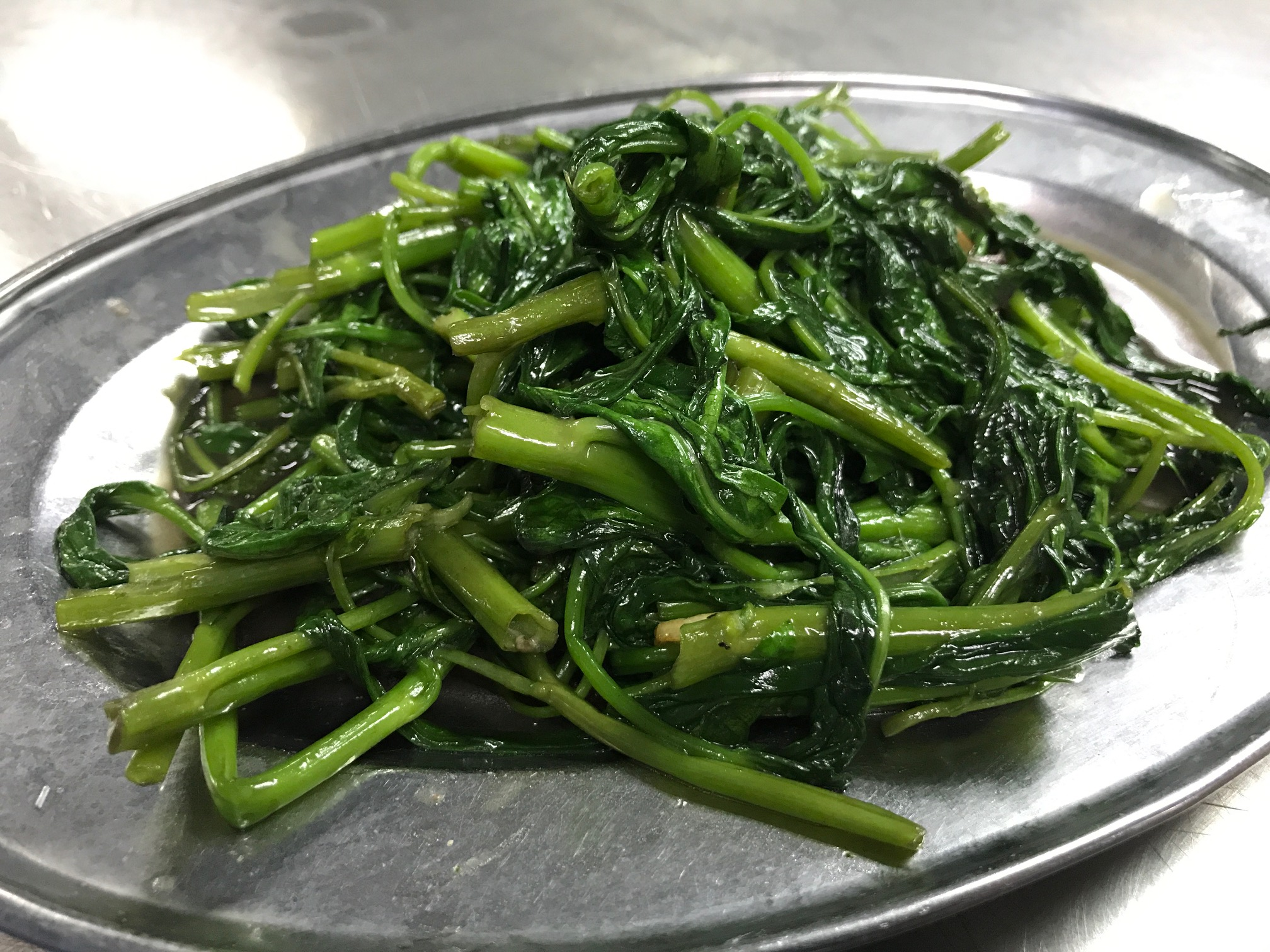 空芯菜炒め