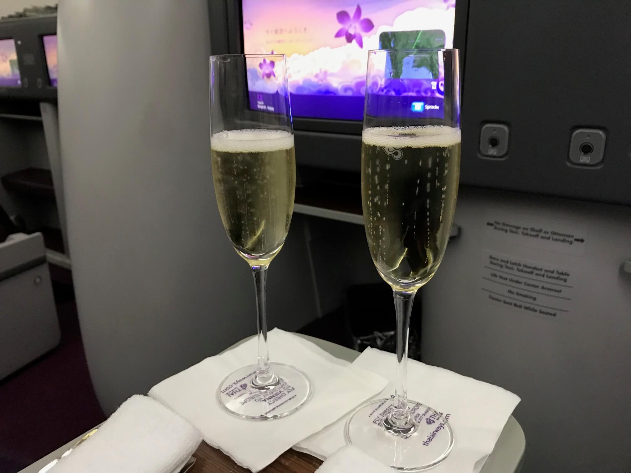 タイ国際航空 B787 ビジネスクラス
