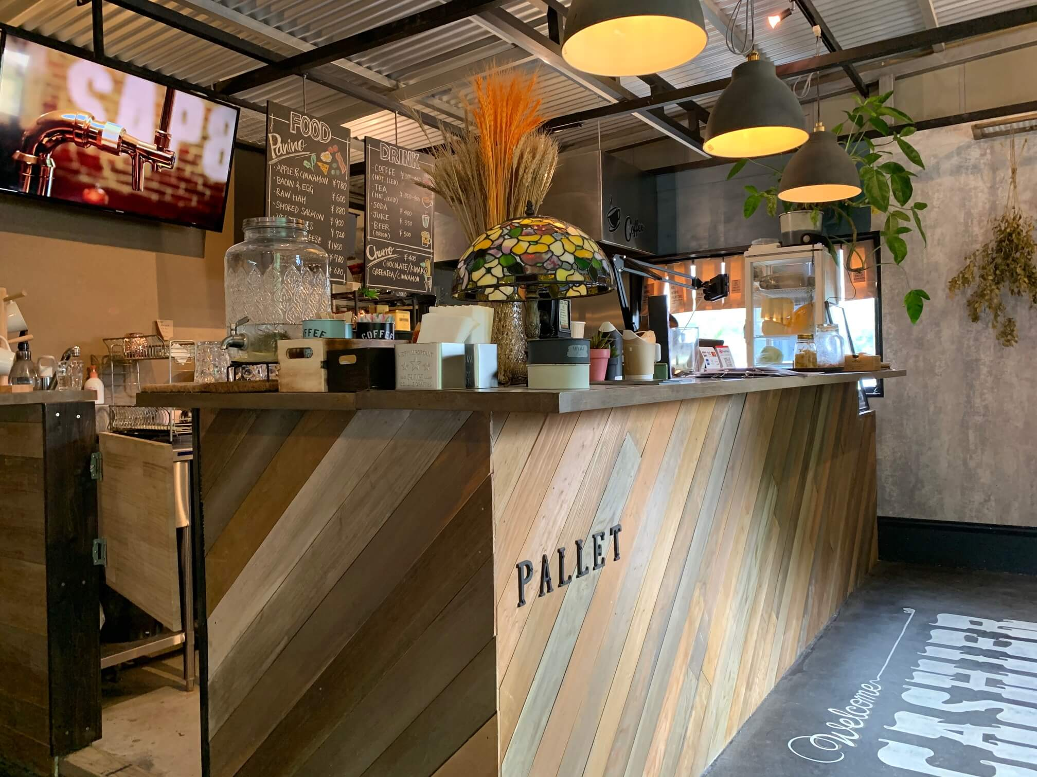 PANINO&COFFEE PALLET