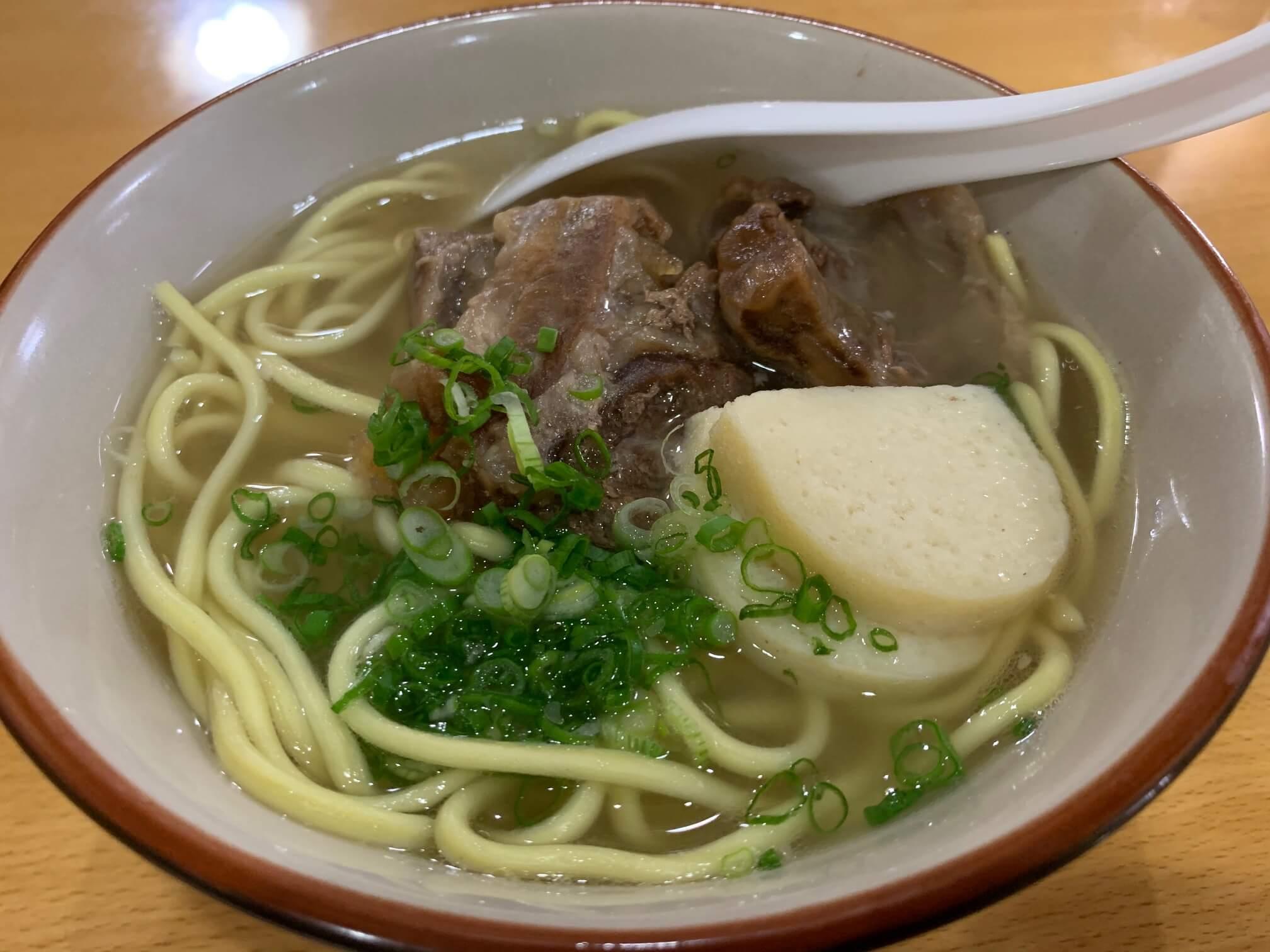 そば 石垣 島 ソーキ